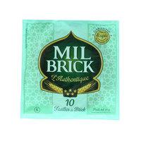 Mil Brick Sheets Thin 170g 10's