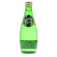 Perrier Natural Sparkling Mineral Water Glass Bottle 330ml