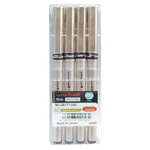 Uniball-Fine-Deluxe-R/Pen-4Color