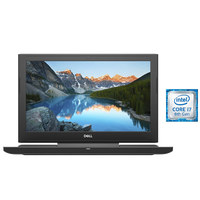 "Dell Notebook G5-1188 i7-8750 16GB RAM 1TB Hard Disk 256GB SSD 4GB Graphic Card 15.6"""" Black"