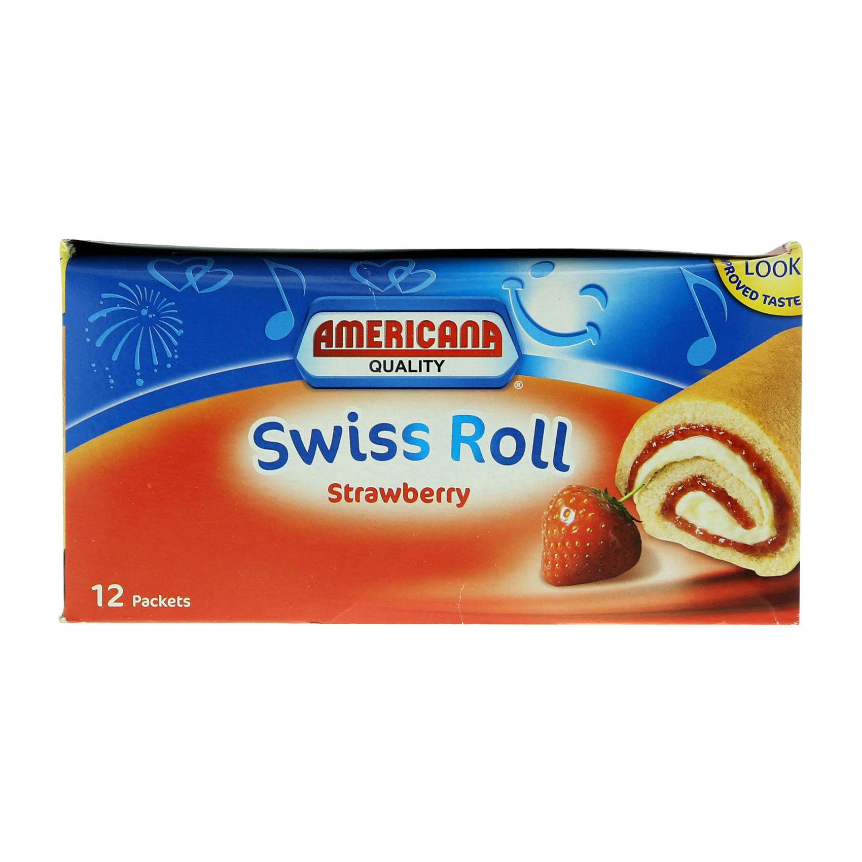AMERICANA SWISS ROLL STRAW 55GX12