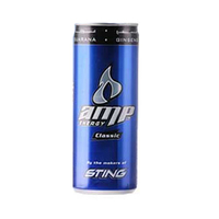 AMP Energy Drink Classic Can 250ML