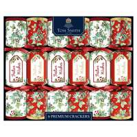 """Tom Smith  6X14""""Wb Traditional Foliage Collection Crackers"""