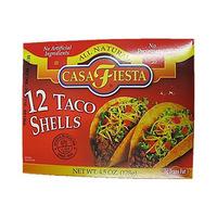 Casa Fiesta Taco Shells 128GR 12 Pieces