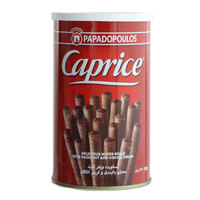 Papodopoulos Caprice Wafer Rolls with Hazelnut & Cocoa Cream 250g