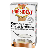 President Half Cream for thickening & cooking 1L