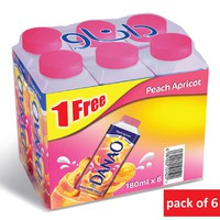 Danao 180x 6 (1 Free) peach and Apricot