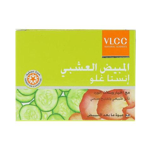 Vlcc-Insta-Glow-Herbal-Bleach-With-Cucumber-&-Rose-Petals-27.5G
