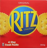 Ritz Original Biscuit Crackers 360g
