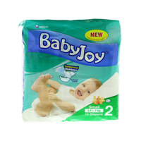 Babyjoy Diapers Size 2 Small 3.5 - 7kg 15 Diapers