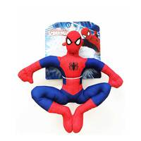 Marvel Plush Spiderman Suctncup 10""
