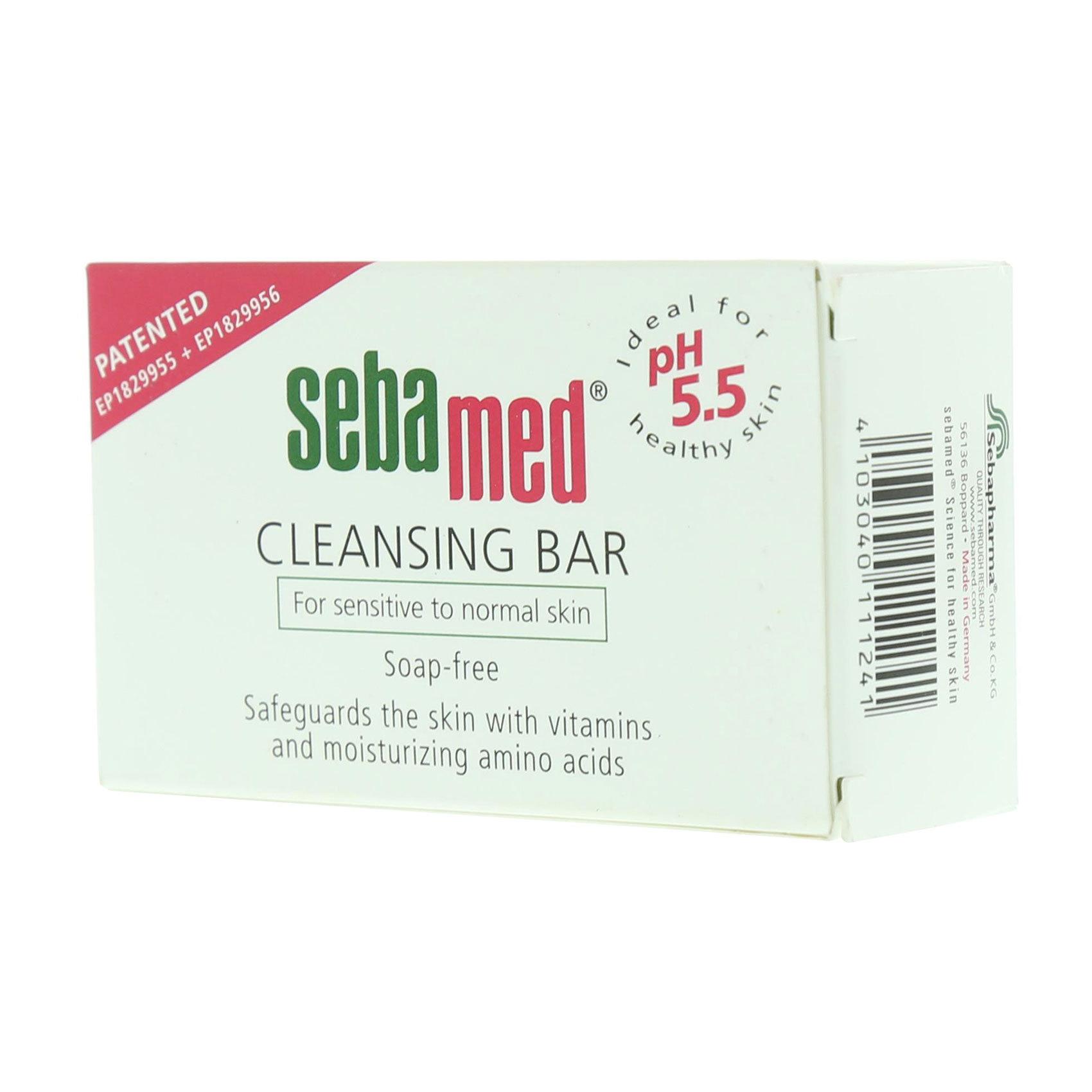SEBAMED CLEANSING BAR 100GM