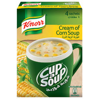 Knorr Cup-A-Soup Cream of Corn 20gx4