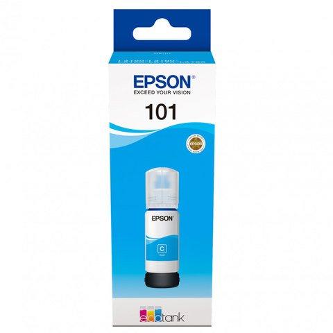 Epson Ink Bottle 101 Ecotank Cyan