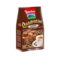 Loacker Wafer Quadratini Espresso 110GR