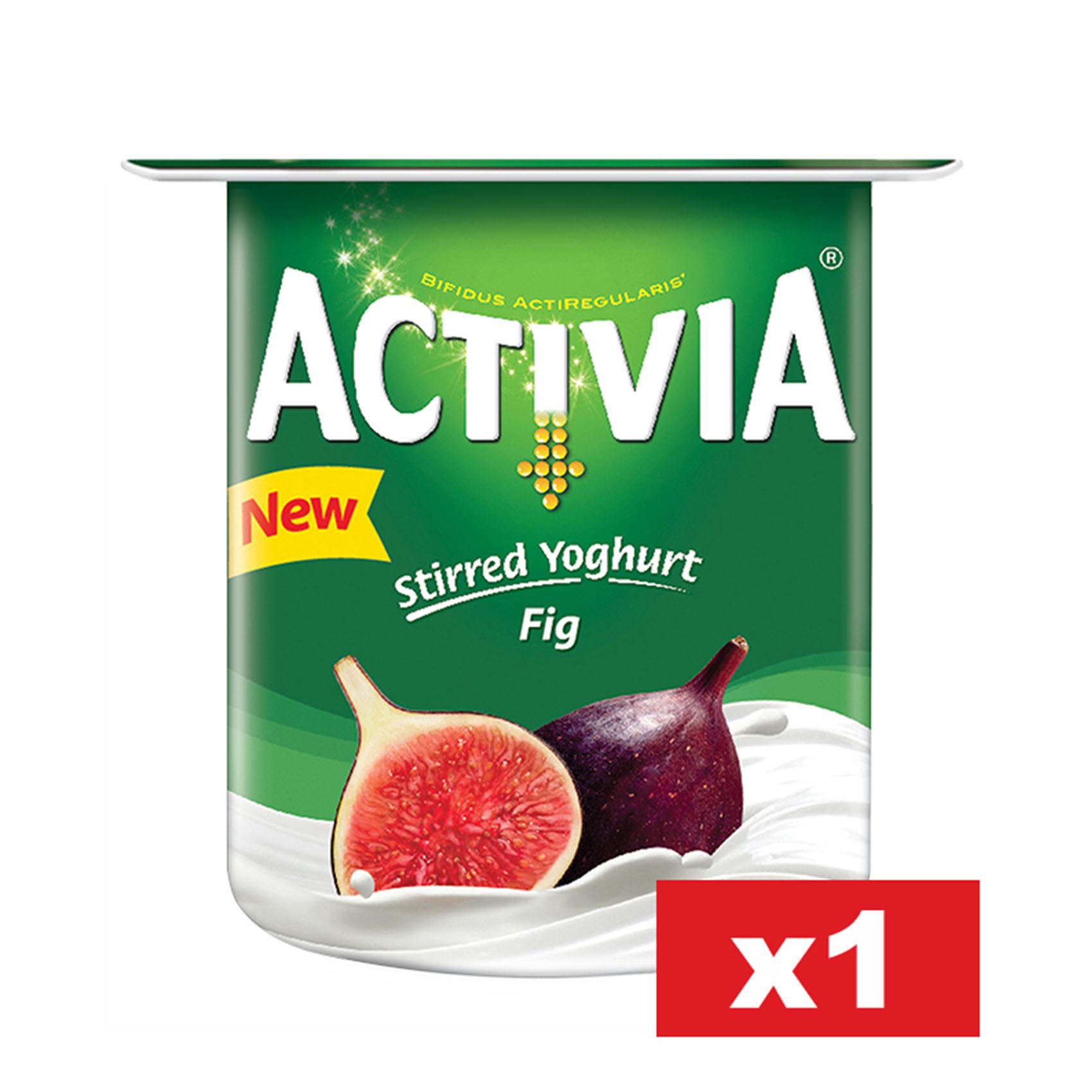 ACTIVIA FIG YOGHURT 120G