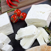 Low-Fat Rolled Halloumi Cheese