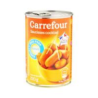 Carrefour Saucisses Cocktail Nature 220GR
