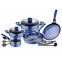 Bergner Cookware Set Diamond 15Pcs