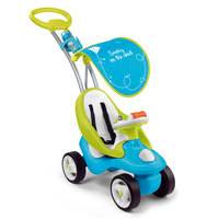 Smoby Bubble Go Blue 2-in-1 Ride-On, Blue