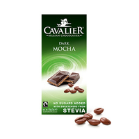 Cavalier Chocolate Bar Mocha Stevia 85GR