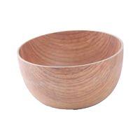 وعاء خشب دائري 16 سم