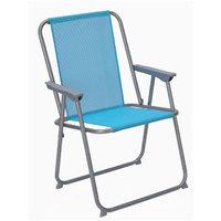 Textilene Beach Chair Blue 53.5x54.5x76 cm
