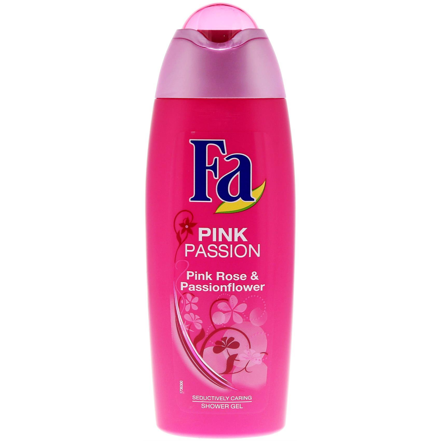 FA SHOWER GEL PINK PASSION