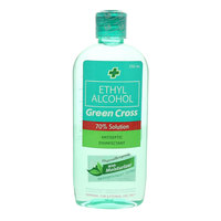 Green Cross Ethyl Alcohol 70% Antiseptic Disinfectant 250ml