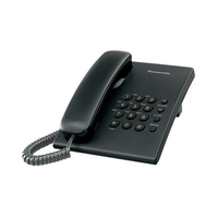 Panasonic Corded Telephone KXTS500 Black