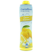 Carrefour Lemon Syrup 750ml