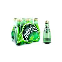 Perrier Water Sparkling Lime 200 Ml 6 Pieces