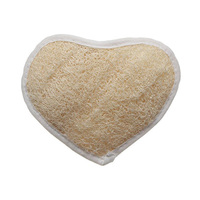 Mirax Loofah Heart Shape