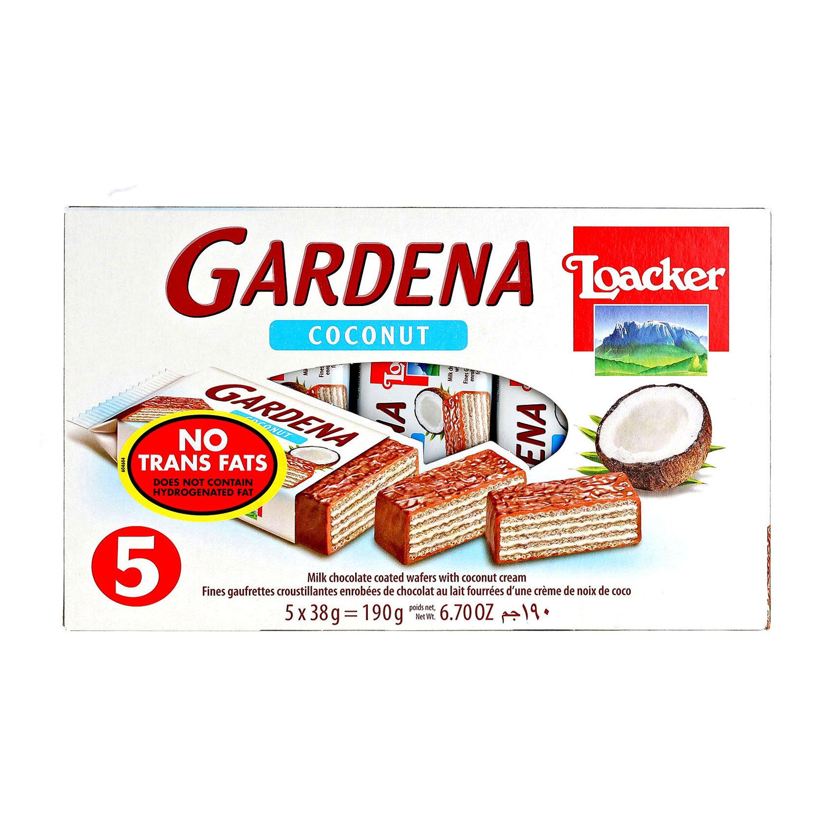 LOACKER GARDENA COCONUT 5X38G
