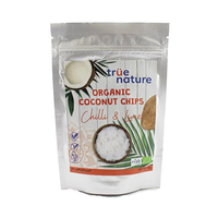True Nature Organic Coconut Chips Chili & Lime 40GR