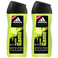 Adidas Pure Game Shower Gel 250 Ml 2 Pieces