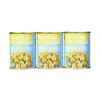 Carrefour Olives Vertes Farcies Avec 4% de Preparation A L'Anchois X3