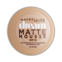 Maybelline New York Foundation Dream Matte Mousse Cameo 20 18ML + Concealer Free