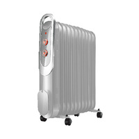 Campomatic Oil Radiator OFR13FW White