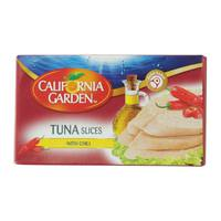 California Garden Tuna Slices With Chili 120g