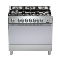Master Gas Cooker M6G93JF/L 90X60 Cm Stainless Steel