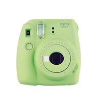 Fujifilm Instax Mini 9 Instant Camera Lime Green + Film + Accordion Frame