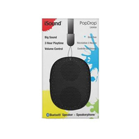 Isound Bluetooth Speaker 6344 Black