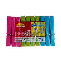 Rozenbal Giant Plastic Pegs 20 Pieces