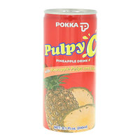 Pokka Pulpy Pineapple Drink C 240ml