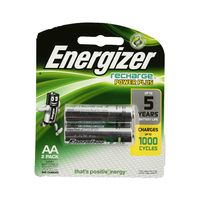 Energizer Power Plus Rechargeable AA Battery 2 Pieces
