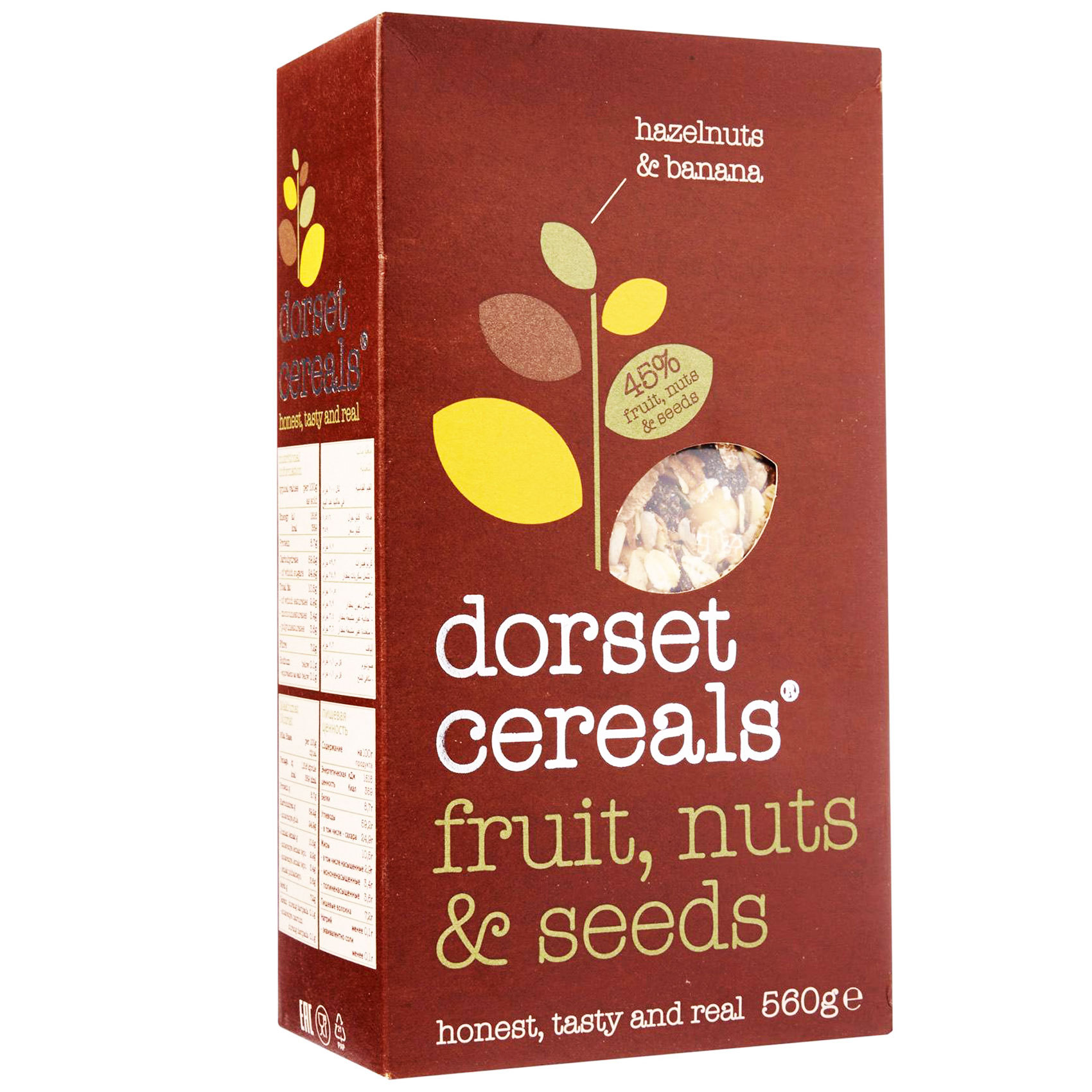 DORSET FRTS NUTS & SEEDS CRLS 560G