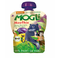 Mogli Moothie Plum, Pear, Quince 100 g