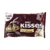 Hershey's Kisses Milk Chocolate With Almonds 226 g