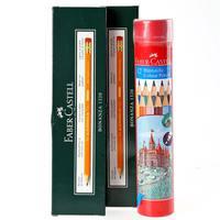 Faber-Castell Color Pencil + Black Lead Hb Pencil 2Pk